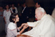 Dima Chebib fulfilling one of her dreams: meeting John Paul II