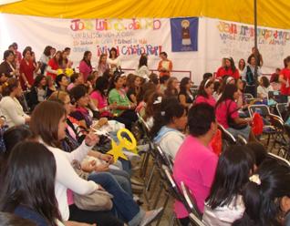 Hollygood, actividad de los clubes Giro de Red Misión, donde realizaron actividades formativas y recreativas en el marco del Encuentro de Juventud y Familia.