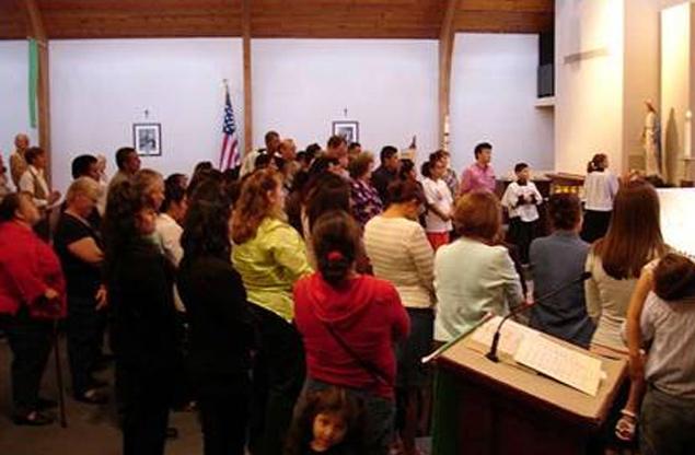 Los catequistas y evangelizadores renovaron sus promesas bautismales y su deseo de anunciar el Reino de Cristo.