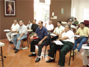 Evangelizadores de Tiempo Completo de Centroam&eacute;rica durante el curso para animadores.