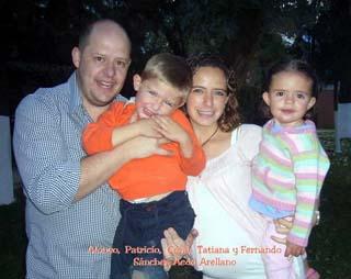 Familia Sánchez Aedo Arellano
