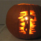 The Conquest boys carved a Halloween pumpkin with the missionary cross of Mission Youth, another Regnum Christi apostolate.