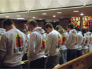 Over 200 young missionaries attend opening mass, Immaculate Conception, Chicago, 4 April 2007.