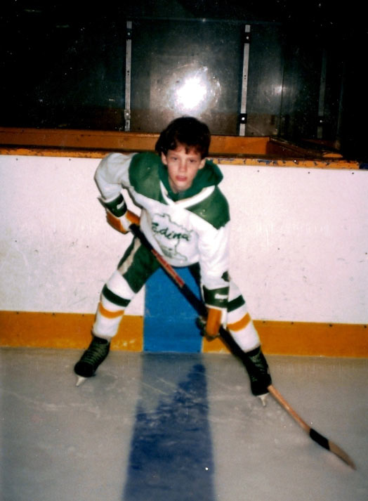 Michael Sullivan, LC, in his boyhood glory days.