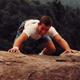 Brian Bisgrove subiendo a las montañas Adiranondack (USA).