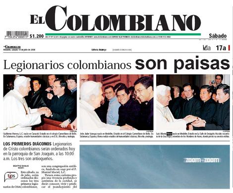 legionarios colombianos