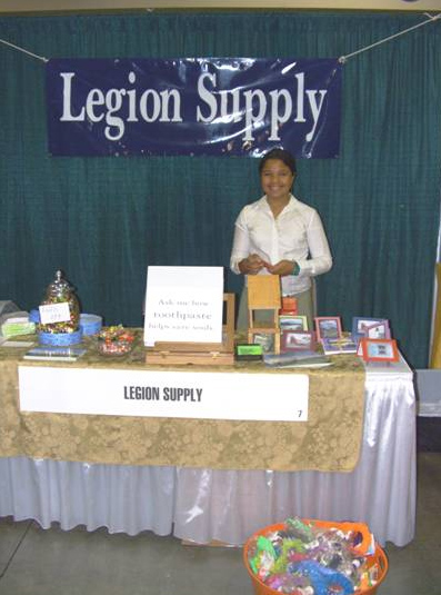 Legion Supply on display at the Atlanta YFE in 2008.
