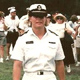 Liz Adams in her United States Naval Academy uniform
