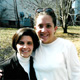 Luann Jones (right) with Ana Patty Fajer.