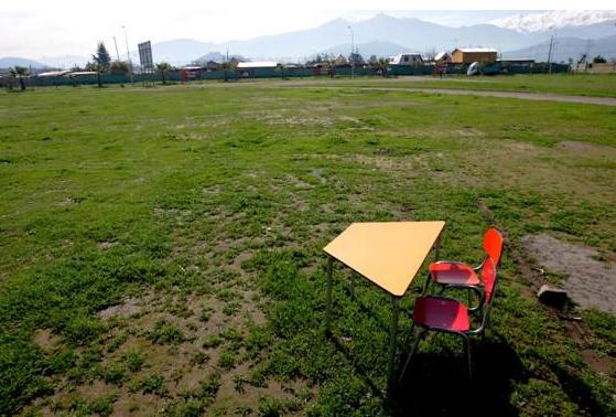 Terreno donde se construirá el Colegio Mano Amiga. Cinco mil metros para hacer real el sueño de toda una comunidad.
