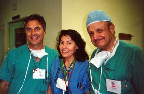 Médicos en las Misiones Médicas.