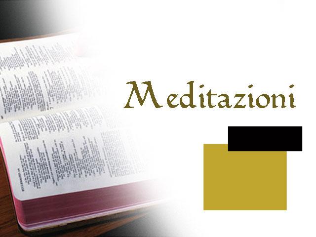 Meditacion semanal