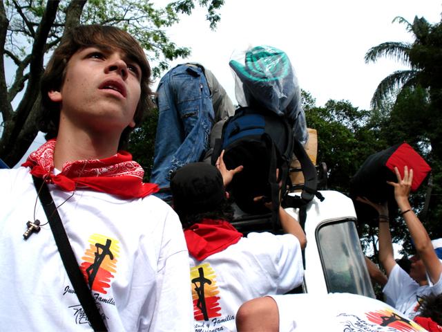 Juventud Misionera de Colombia, listos para evangelizar.