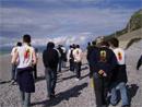 Uno dei gruppi di Giventù Missionaria accorsi a Milazzo