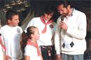 Familia misionera ofrece su testimonio de alegría. ¡Gracias misioneros!