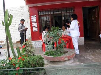 Familia Misionera de Perú no cejó en incentivar a los habitantes a aproximarse cada vez más a su parroquia.