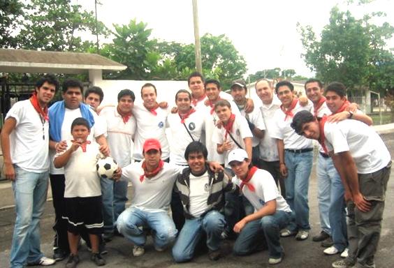 Jóvenes en la comunidad de San Isidro.