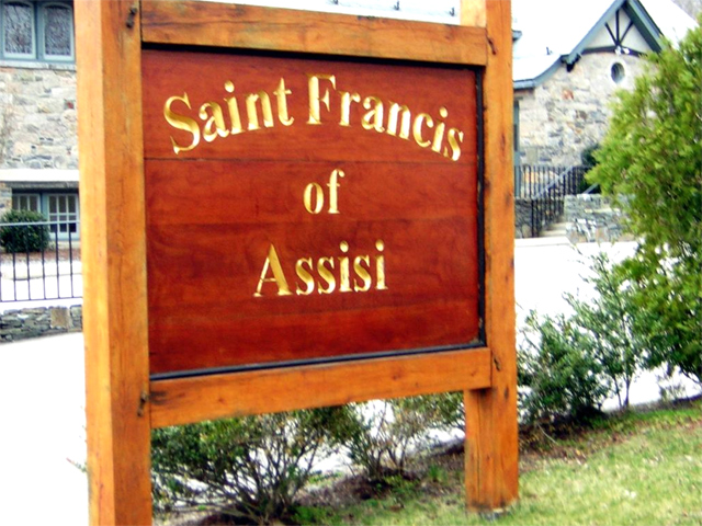 St  Francis of Assisi Church in Wakefield RI