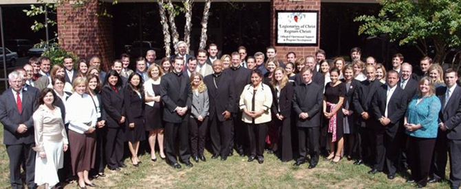 The Integer and Mission Network staff with Archbishop Gregory.