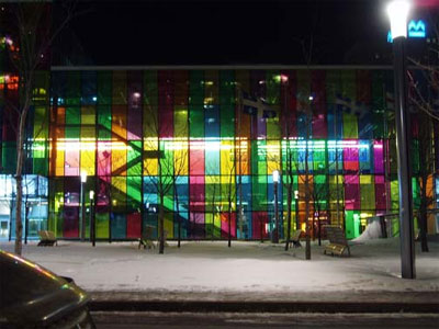 The Palais des Congrès of Montreal where Jean-Pierre Rousseau and his friends went to help the poor.