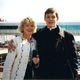 Mrs Burtka with Br. Joseph in Rome 1991.