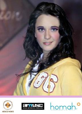 Una de las jóvenes que participó del programa Pure Fasion, en la Universidad Anáhuac México Norte.