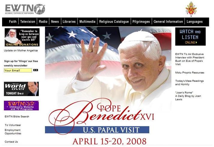 pope 2008