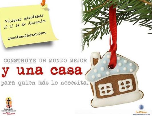 Póster promocional de las misiones navideñas