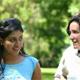 Roxana convivió con las señoritas consagradas en Monterrey, una experiencia muy enriquecedora para ella.