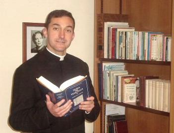 P. Juan Pablo Ledesma, L.C., decano de la facultad de teología en el Ateneo Pontificio «Regina Apostolorum».