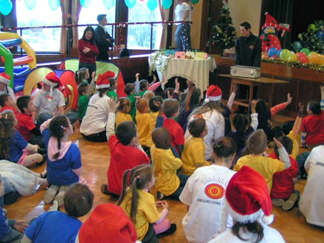Los niños participaron activamente en los concursos organizados por Soñar Despierto en Irlanda.