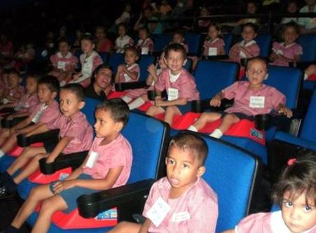 Los niños pudieron aprender, disfrutar y recibir el aprecio y la estima de la gente que les rodeaba.