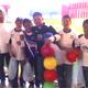 Algunos de los adolescentes de SportsLeader de Aguascalientes disponiéndose a convivir con los niños del CRIT.