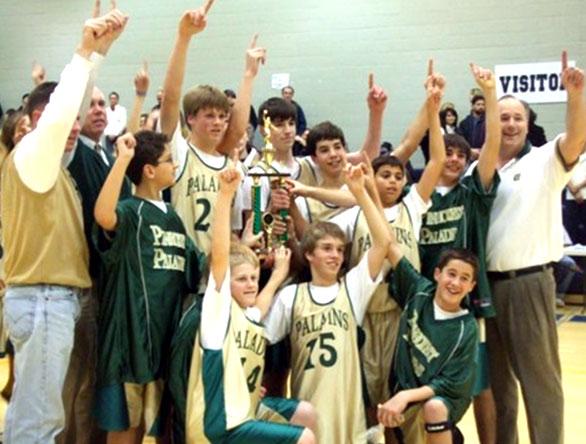 equipo de basketball