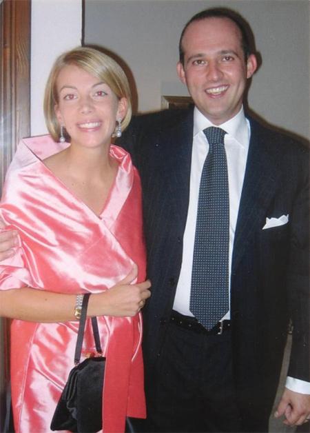 Niccolò Manetti y su esposa Kate