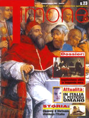 <i>Il Timone</i>, on the cutting edge of apologetics magazines in Italy.