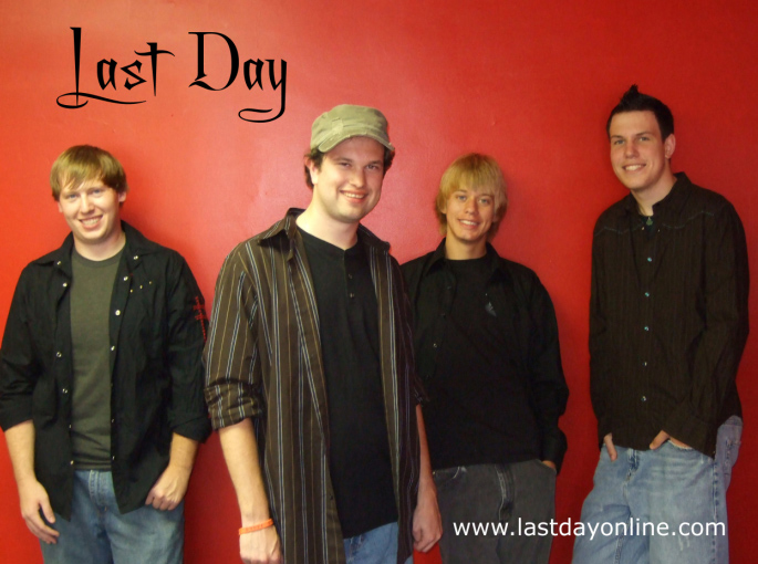 A young Catholic band, Last Day.
