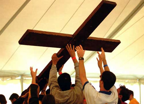 Carrying the World Youth Day cross