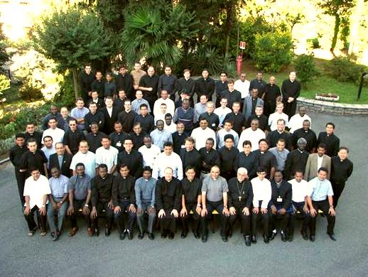 Sacerdotes participantes en el XVIII curso para formadores de seminarios.
