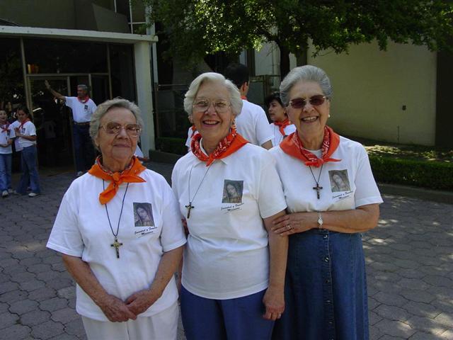 Tres abuelitas de Familia Misionera.