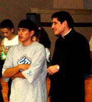 P.Lino Otero, LC. y Omar (ECYD en Dallas)